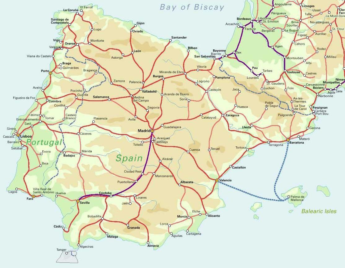 spain Map of Spain 6 Continuous Holyholiness saadhu sadvi