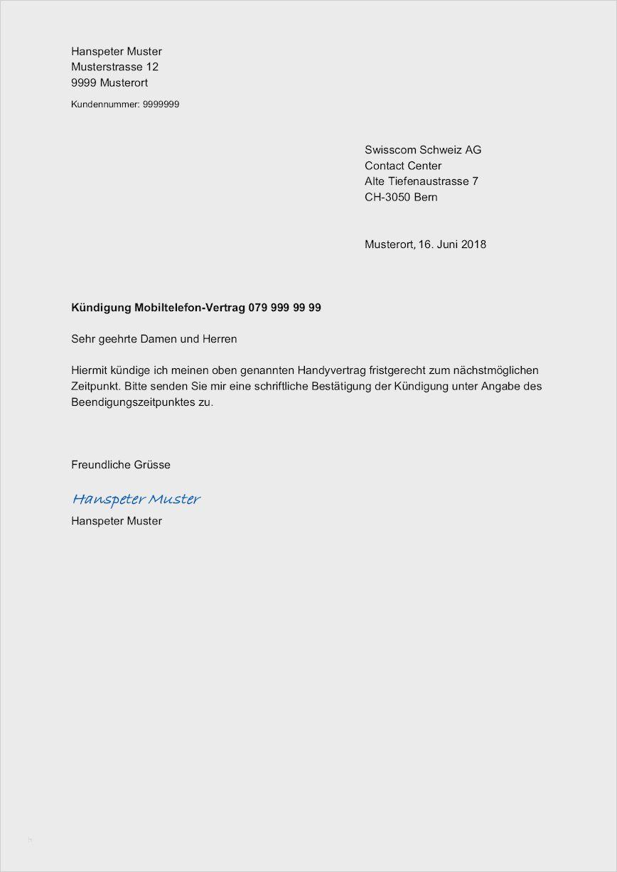 Kundigung Blau De Vorlage 8