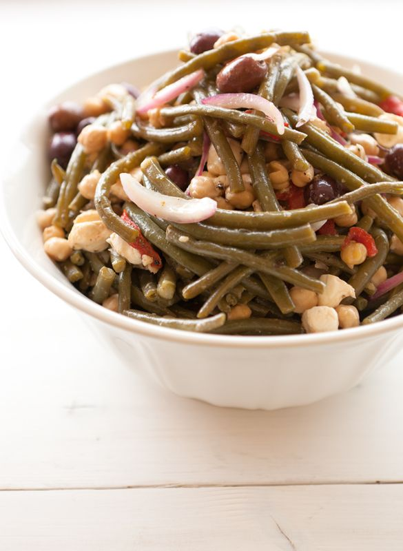 Green Bean Salad, Wholeliving.com #lunchbunch