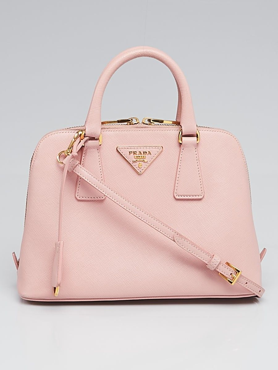 3d460a2793a9 Prada Orchidea Saffiano Leather Small Promenade Bag BL0838 - Yoogi s Closet