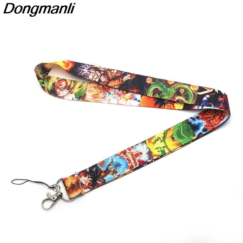 B2221 Dongmanli DRAGON BALL Z Lanyards For necklace ID Card