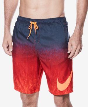 a57132e7785b4 Nike Men's Breaker Faded Logo Swim Trunks - Red XXL | Products ...