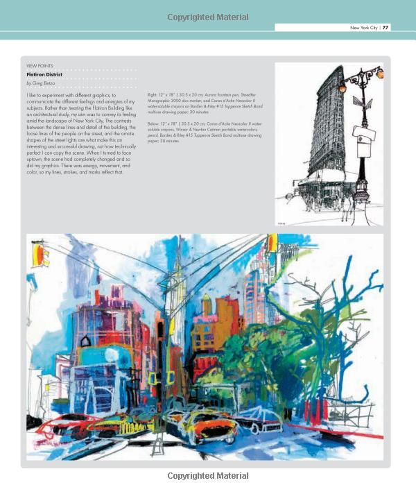 The Art Of Urban Sketching Drawing On Location Around The World Amazon Co Uk Gabriel Campanario Books Urban Sketching Location Drawing Art