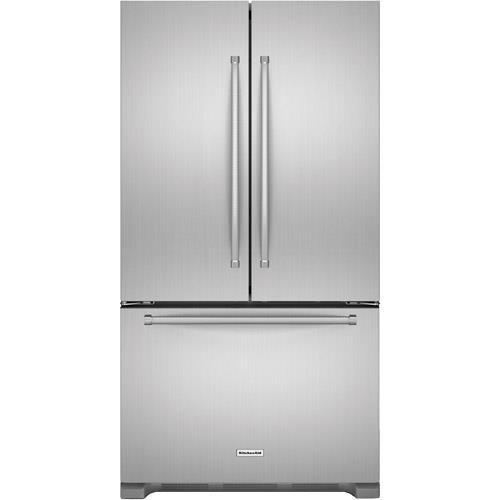 Best Kitchenaid 21 9 Cuft French Door Refrigerator 640 x 480