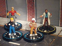 Heroclix and Jonny Quest...nothing better!!!!!!