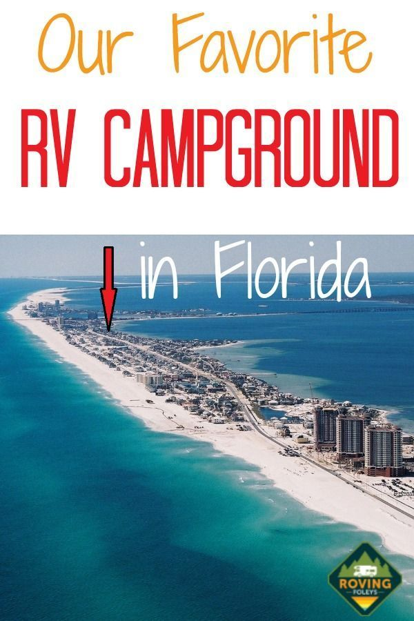 Photo of Why We Love Pensacola Beach RV Resort in Florida | The Roving Foley's