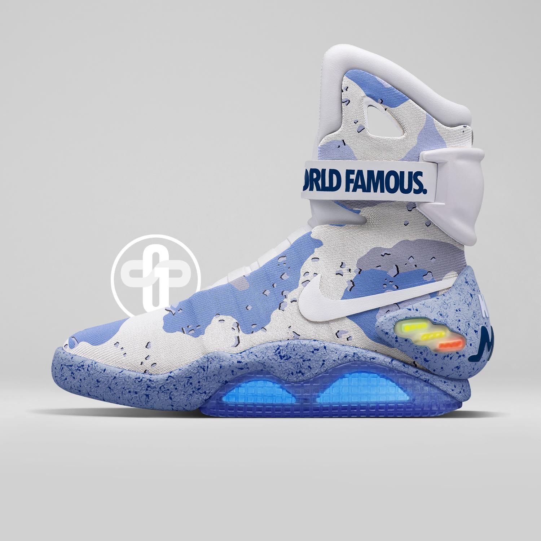 online retailer a0f32 dcec8 Supreme x Nike MAG Desert Camo Blue