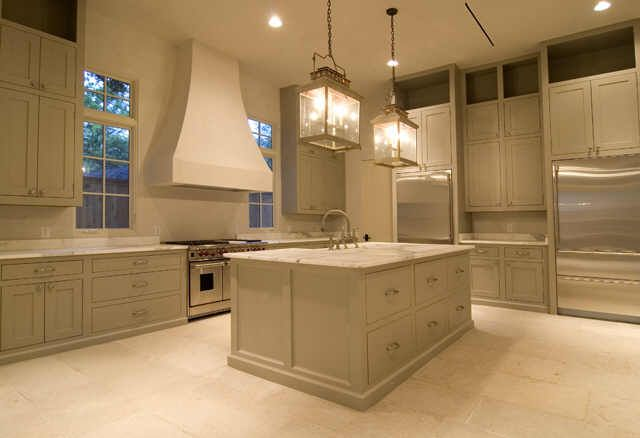 Kitchen With Italian Marble Counters French Stone Floors And Impressive Stone Floor Kitchen Design Inspiration