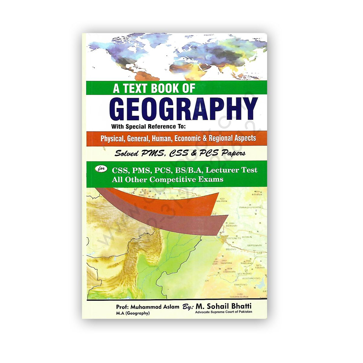 A Text Book Of Geography By Prof M Aslam Amp M Sohail Bhatti