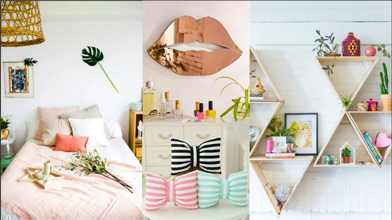 DIY ROOM DECOR! 32 Easy Crafts Ideas at Home for Teenagers | Room ...