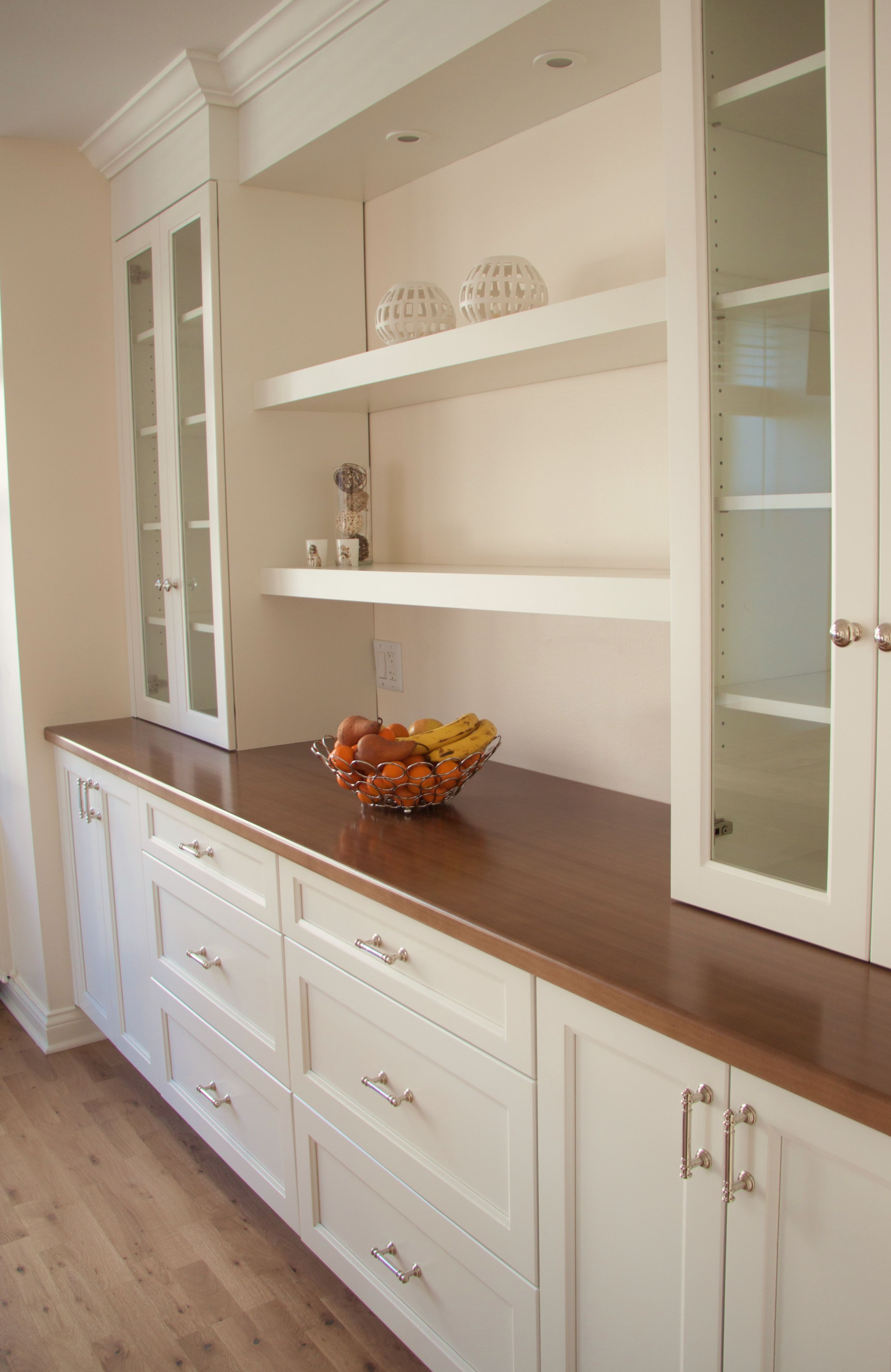 Dining Room Built In Cabinets And Storage Design (1 in ...