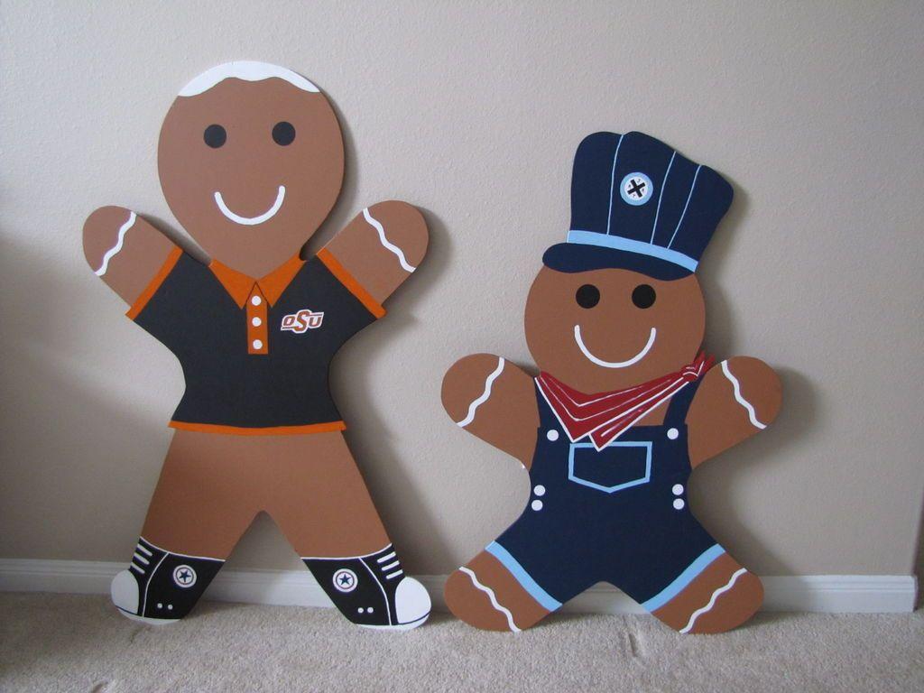 Gingerbread Man Christmas Yard Decoration - Updated - English & Gingerbread Man Christmas Yard Decoration - Updated - English | Neat ...