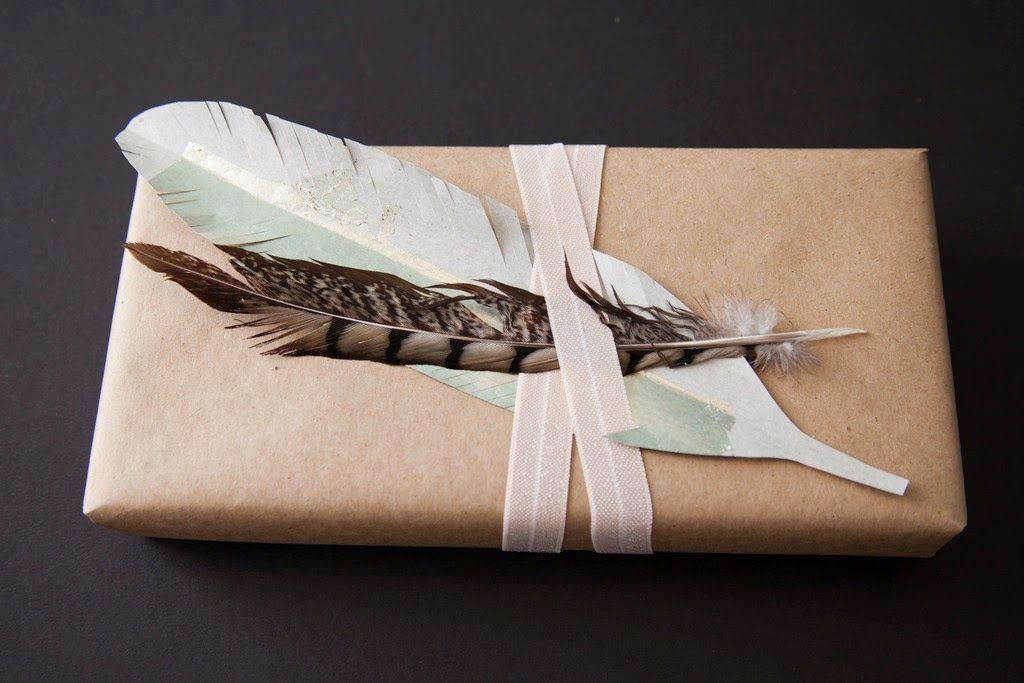 Otra forma de empaquetar tus regalos, reciclando.