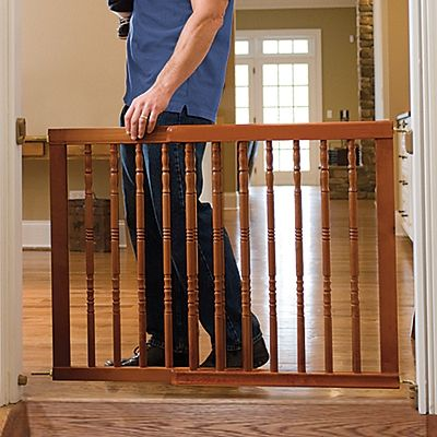 Classic Wood Safety Gate One Step Ahead Baby Child