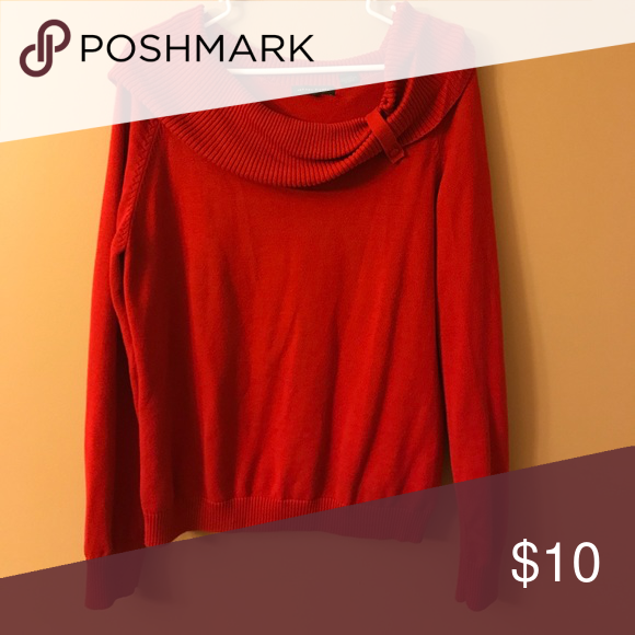Red sweater Pretty red sweater, perfect for the holidays! Great ...