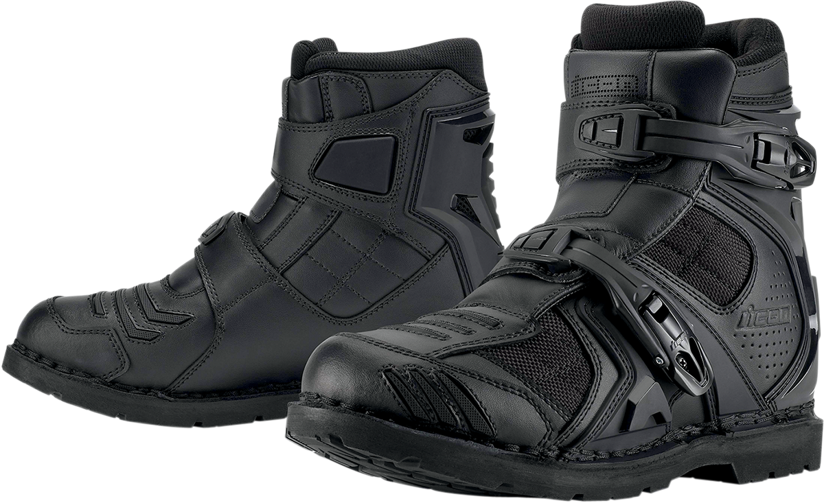 Field Armor 2 Boot Black Products Ride Icon Bike