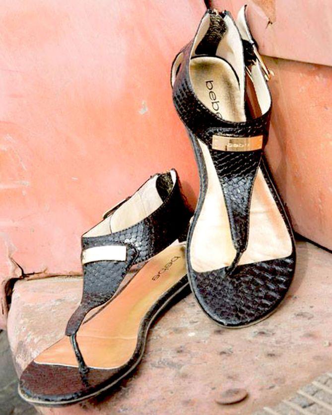 BEBE BERNADETTE FLAT SANDALS | Buy ➜ http://shoespost.com/bebe-bernadette-flat-sandals/