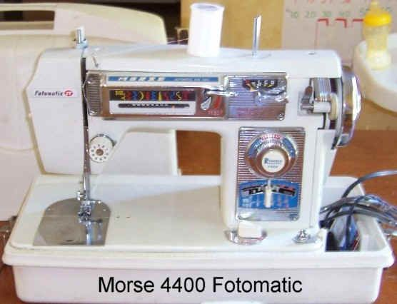 Morse Sewing Machine Pictures Vintage Fun Sewing Machines Beauteous Morse 4400 Sewing Machine