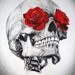 Calaveras Con Rosas Las Mejores Imagenes Y Su Verdadero