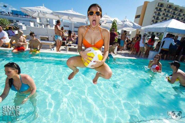 Rooftop Pool Party At Highbar Miami Atop Dream Hotel South Beach Dream South Beach South Beach Hotels Dream Hotels