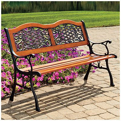 Big Lot Benches View Wilson Fisher Basket Weave Park Bench