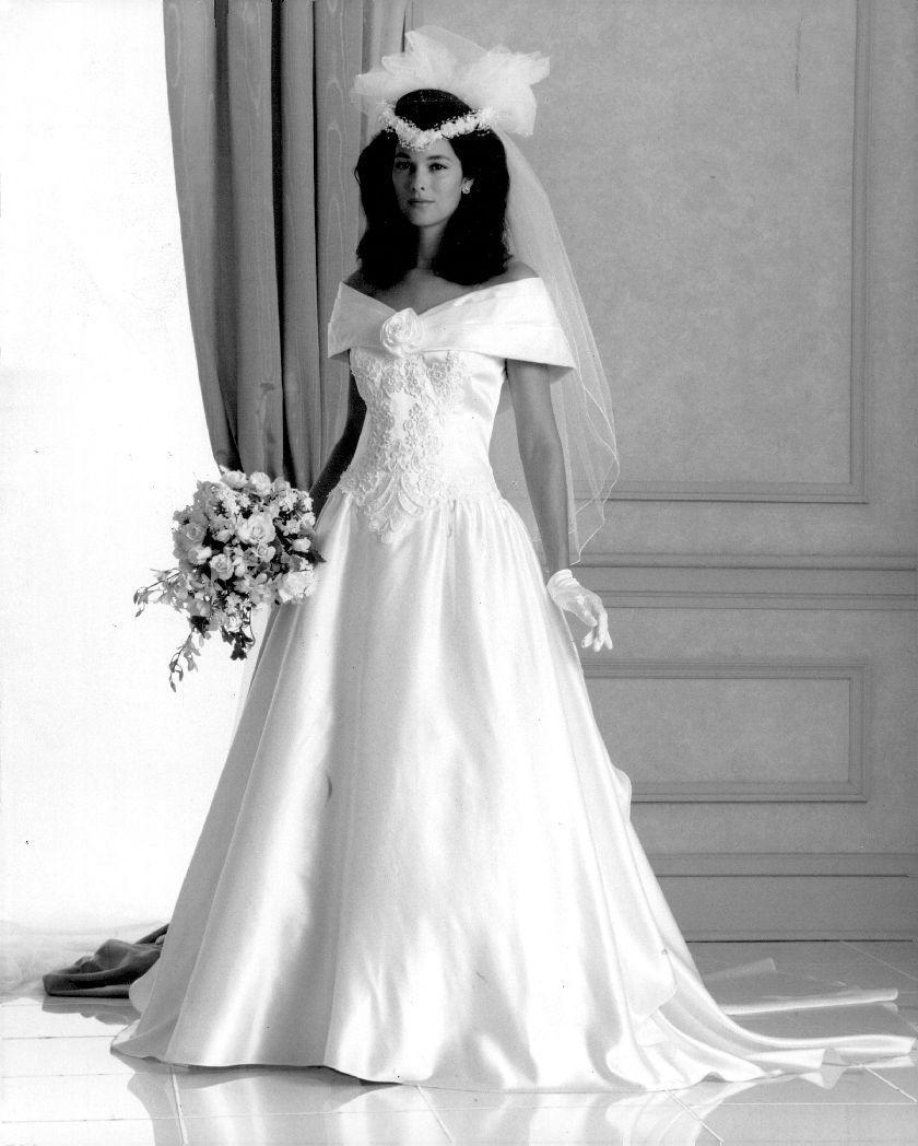 1991 Bride Vintage wedding photos, Bridal gowns