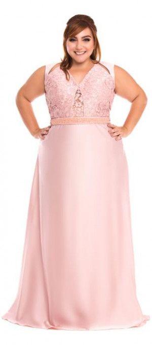 Vestido de festa plus size | plus party dresses | Pinterest | Abendkleid