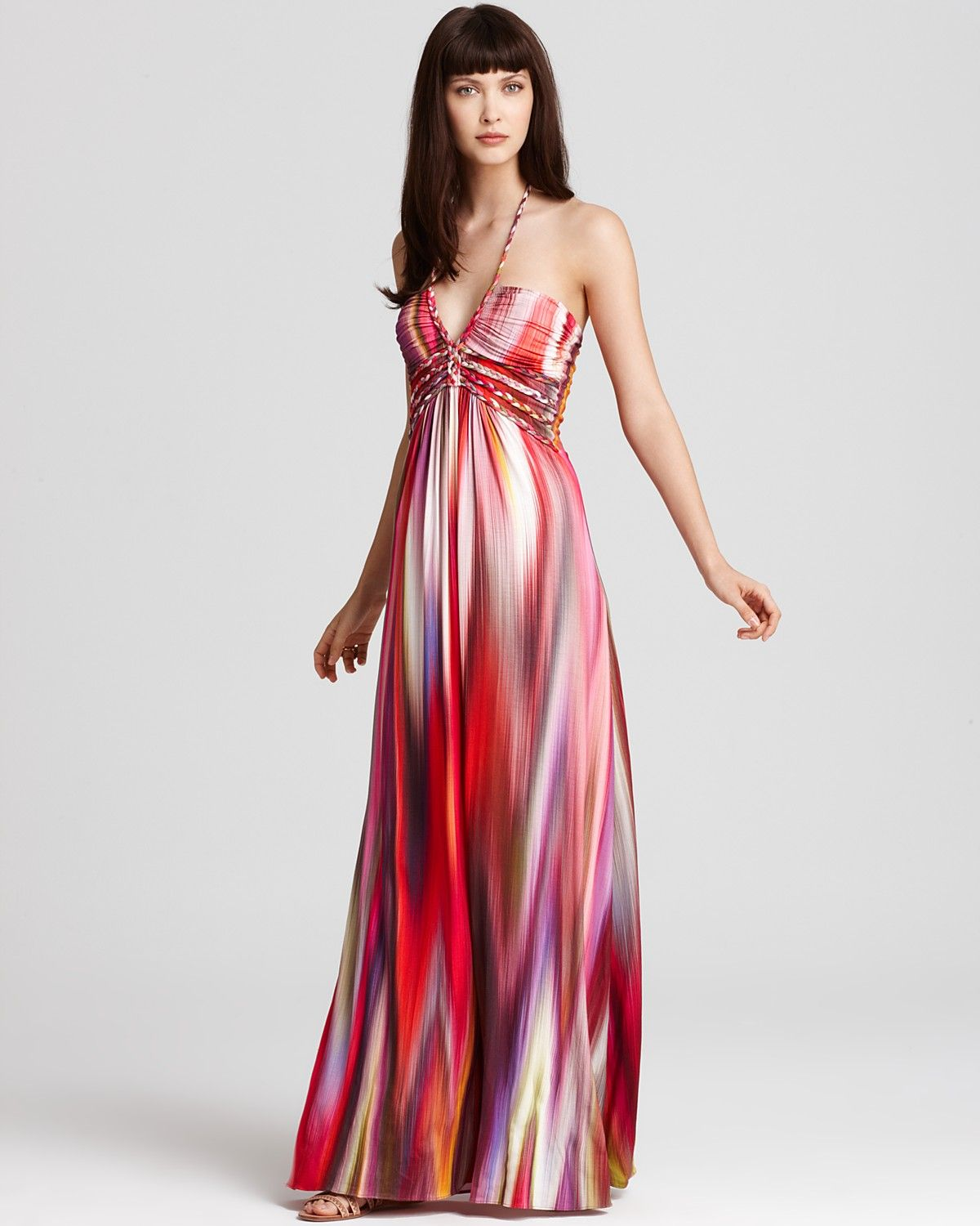 2e99188907 Sky Dress - Tie Dye Halter Maxi - Dresses - Apparel - Women s -  Bloomingdale s