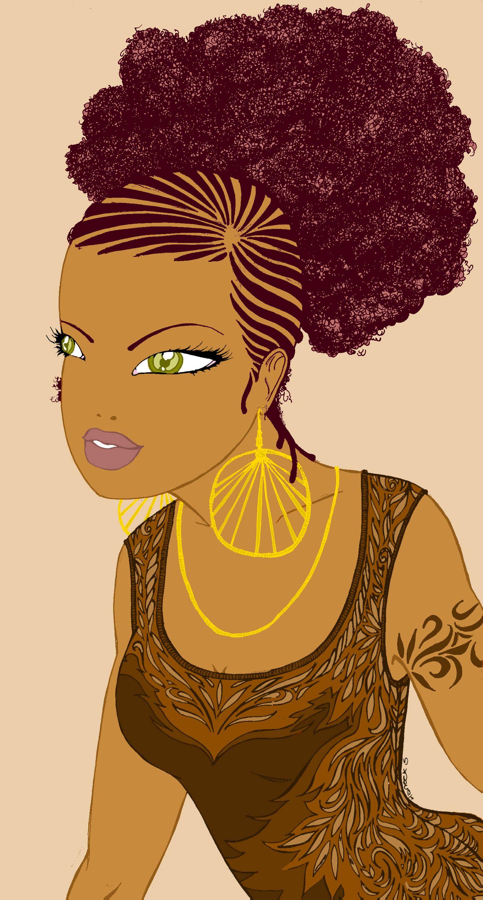 Pin Ja'porria Cooks Afrocentric In 2019 Art Woman