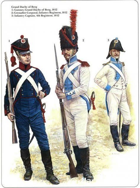 Grand Duchy of Berg 1812