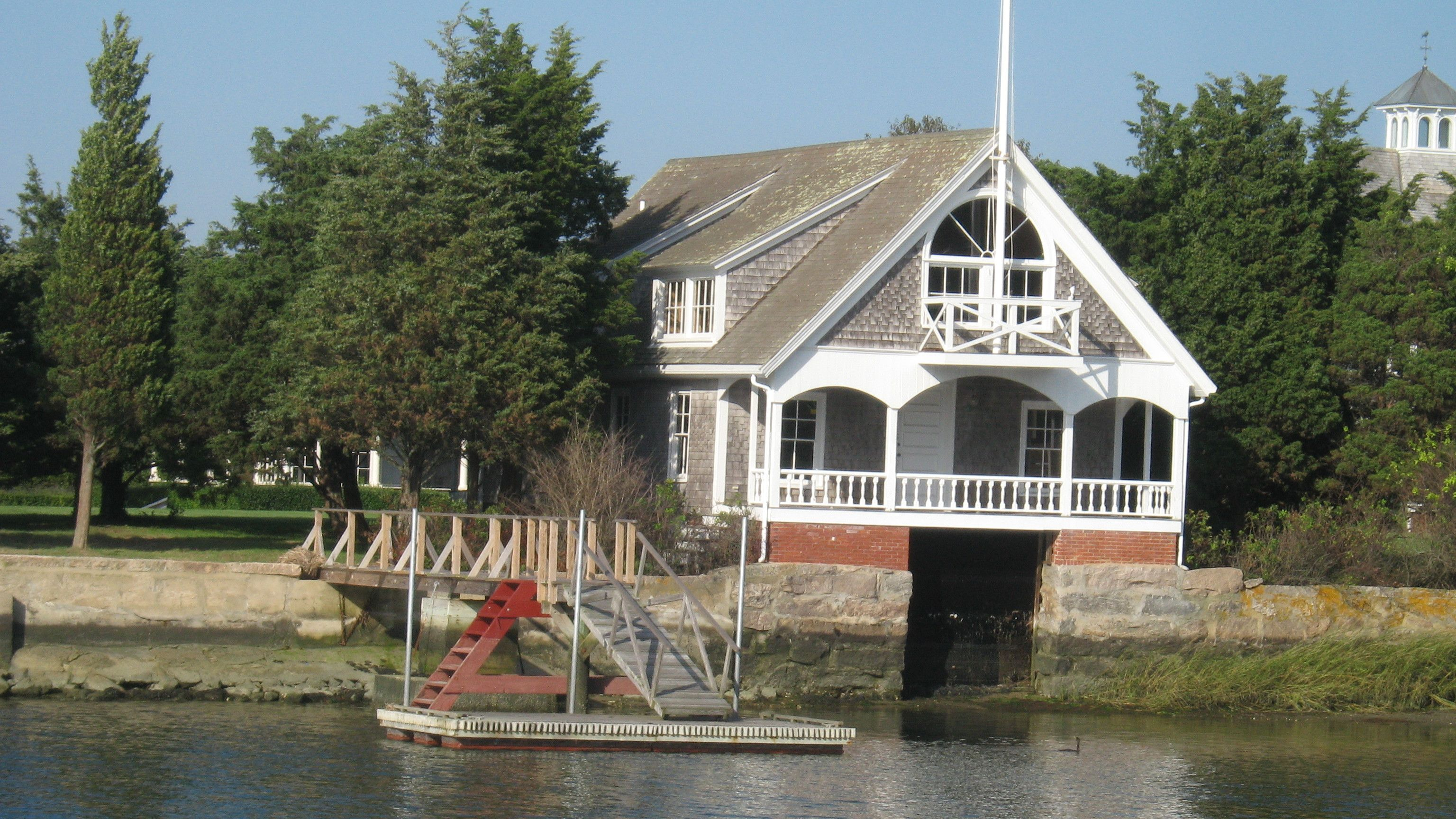 Harbor Boat House. West Falmouth, Ma House styles, House