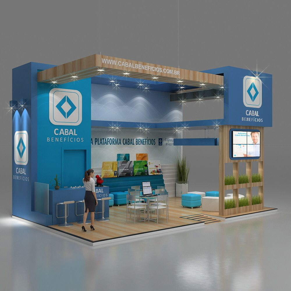 Exhibition Stand Design 3d Max : Modeling developed by d studio max rendering using vray and