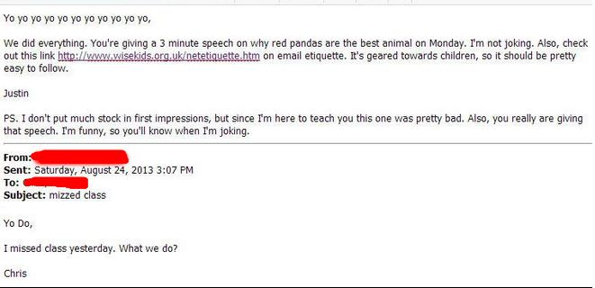 Funny Email: Professors Reveal The Funniest Emails They've Gotten From