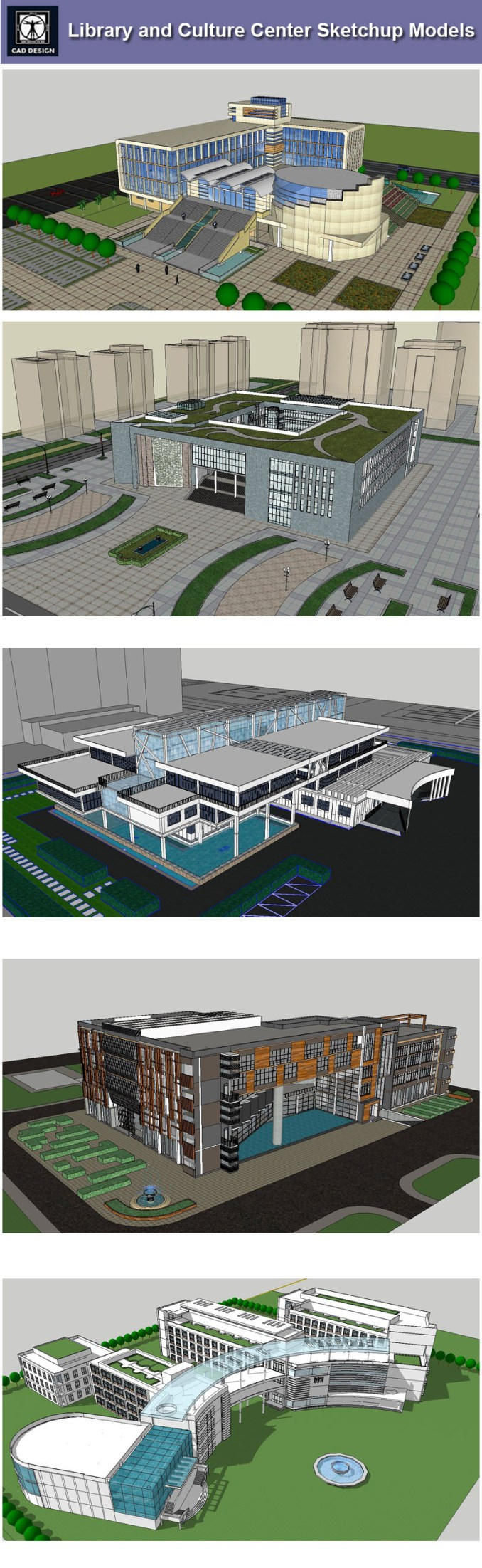 0c47565f90 Download 15 Library Sketchup 3D Models】 (Recommanded!!) | SketchUp ...