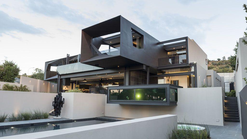Kloof Road House Luxury House Designs House Black Luxury House