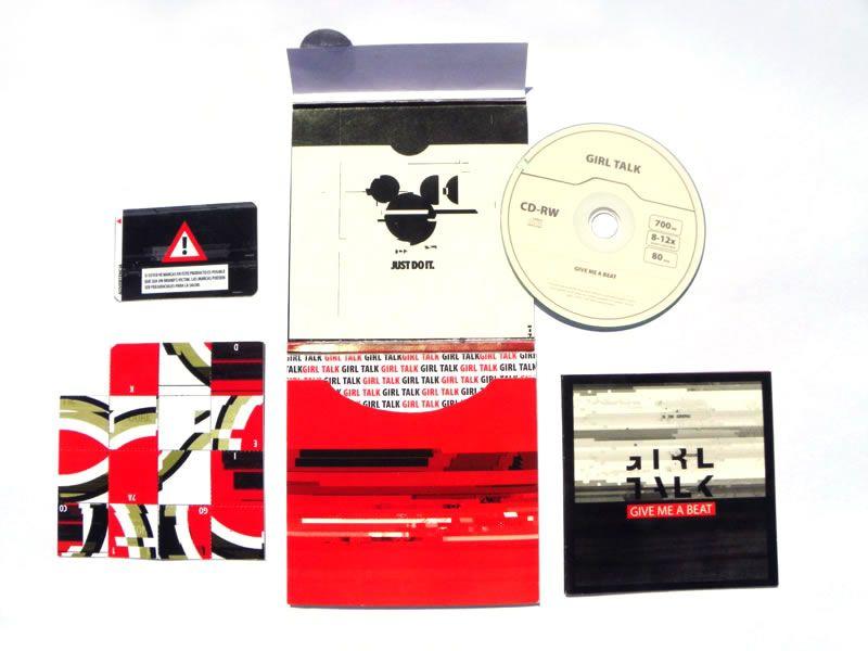 Diseño de una edición de lujo de la canción ''give me a beat'' del músico Girl Talk  Design & art direction for Girl Talk Deluxe Edition 2011 - Give Me A Beat