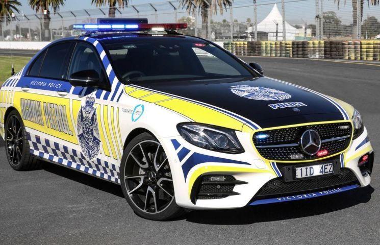 Mercedes Amg E43 Sedan Is The Newest Aussie Highway Patrol Car
