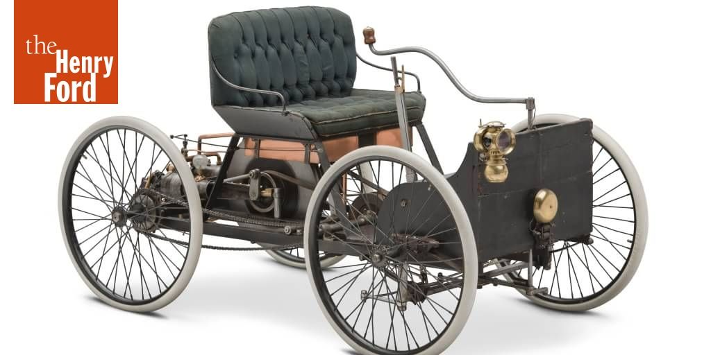 1894 The Quadricycle Was Henry Ford S First Attempt To Build A