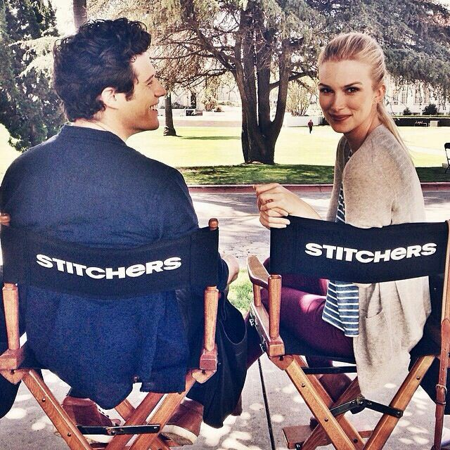 Kyle Harris and Emma Ishta from Stitchers. (I do NOT own this picture- all credit to whoever does)