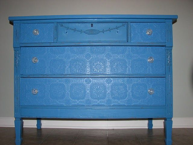 Dumped And Discovered Wallpaper Furniture Paintable Wallpaper Diy Furniture