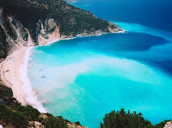 Myrtos Beach Kefalonia Greece George And I Thought This Was The Most Beautiful We Had Ever Seen In Whole World