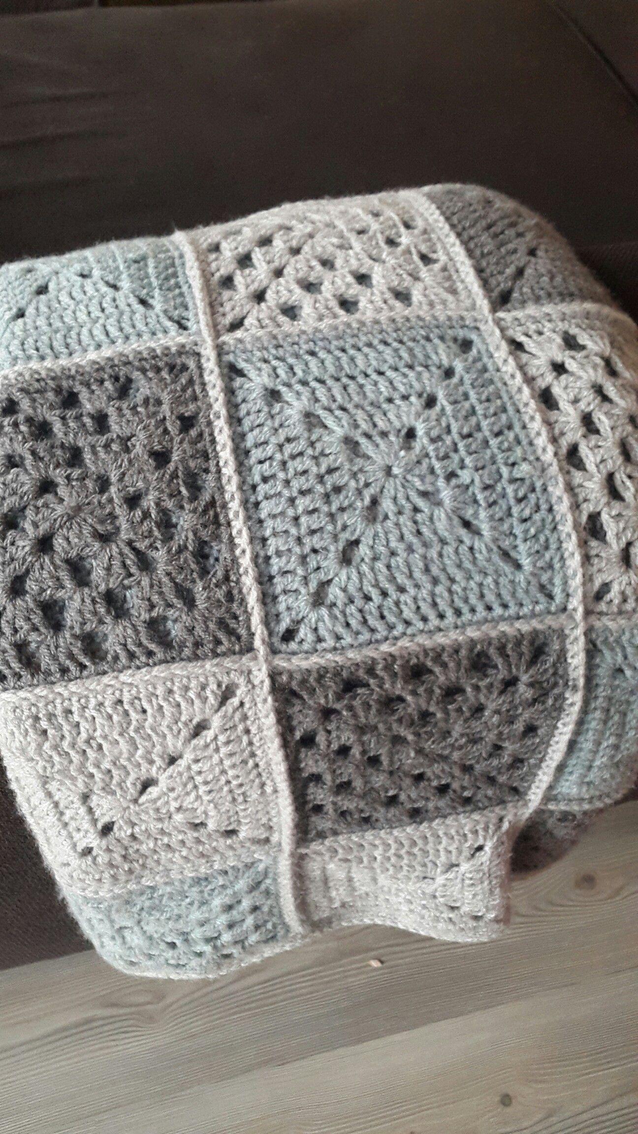 Lekker Warme Lapjes Deken Voor Op De Bank Made With Love Crochet