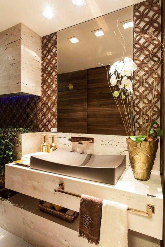 1 badezimmer deko moderne bader badezimmer in weis und braun - badezimmer braun wei modern