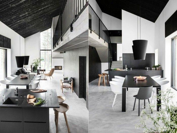 skandinavisch einrichten esszimmer nordisch gestalten in weiß und, Esszimmer dekoo