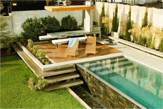 Quincho piedra roja very nice pool pinteres for Pileta en patio pequeno