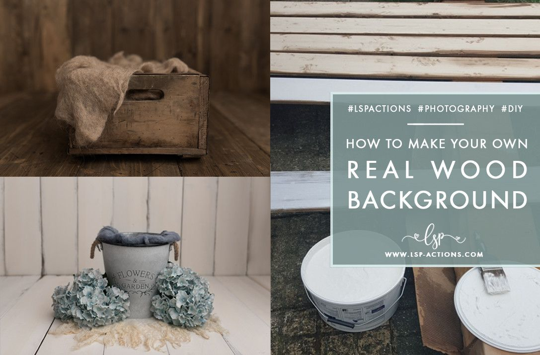 Diy How To Make A Real Wood Distressed Backdrop