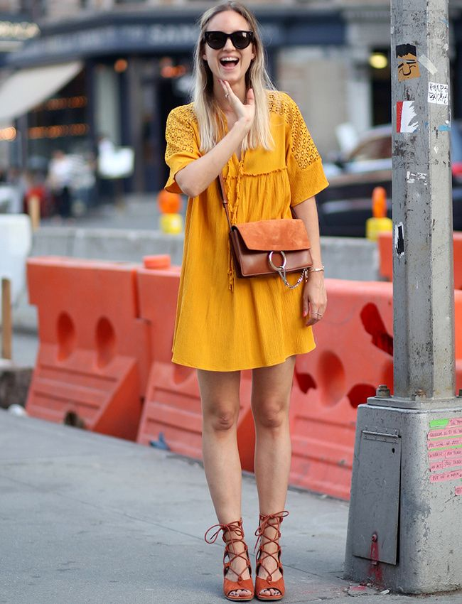 Robe jaune moutarde zara