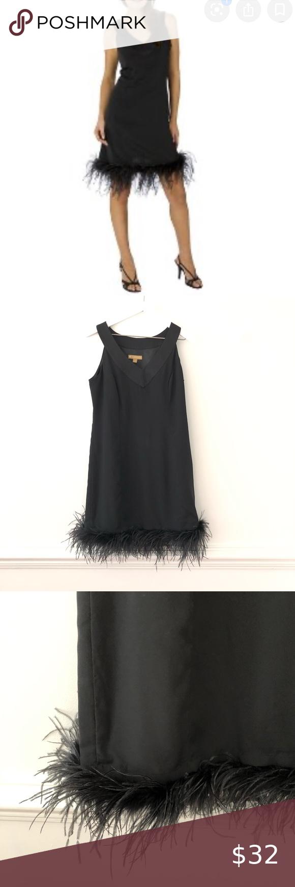 Target Limited Edition Vicky Feather Trim Dress Dresses Target Dresses Little Black Dress [ 1740 x 580 Pixel ]
