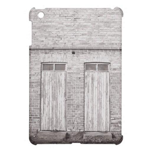 Old building iPad mini case.