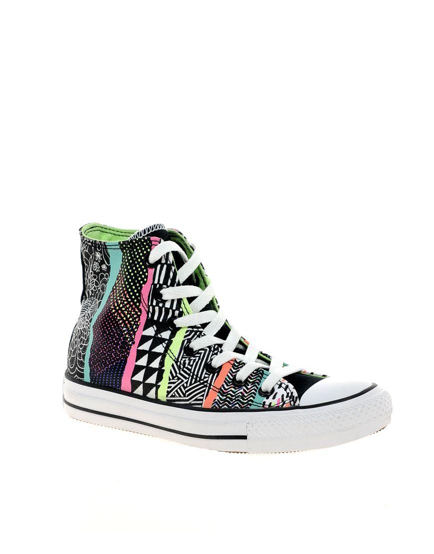 210c5602c7b2 converse aztec. Converse - All Star - Fancy print Tennis Sneakers ...